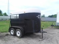Used Black WW 2 Horse Trailer-$2795