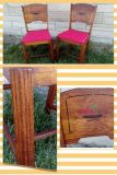 Pair 1950's Kitchen Chairs