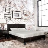 SALE! QUEEN PLATFORM URBAN STYLING LEATHER BED FRAME /NEW!