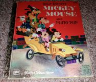 Mickey mouse and Pluto pup A Golden Book