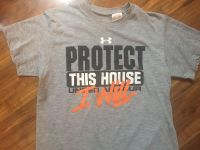 YOUTH MEDIUM UNDER ARMOUR T-SHIRT EXCELLENT