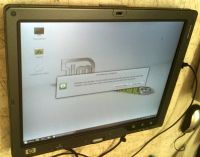 "hp Compaq tc4200 12"" convertible tablet notebook running Linux Mint"