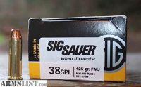 For Trade: Sig 357 mag & 38spl ammo