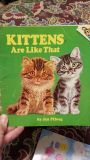 Kittens are Like That - paperback book