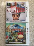Nintendo 3DS Crushed3D & Scribblenauts Unlimited Games