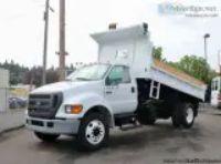 Ford F Dump Truck