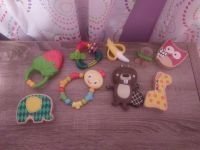 baby teething and toy lot