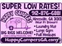 RV spaces IN Hinesville!