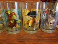 8 Sherk collectable glasses