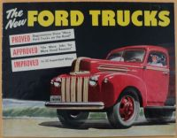 Find 1946 Ford Trucks Proved Approved Improved Sales Brochure motorcycle in Holts Summit, Missouri, United States, for US $42.46