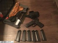 For Sale: M&p9 2.0, 6mags bravo torsion holster