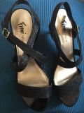 Women's formal shoes size 8. Worn once.
