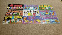 9 School Subjects Posters
