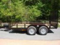 .ft X ft Deluxe Tandem Utility and and Landscape Trailer Not