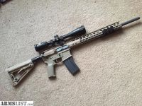For Sale: 6.8 SPC AR15 FDE Hunting/Tactical Rifle