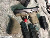 For Sale: Completely Loaded 2 tone Shield 9mm with holsters, mags etc.