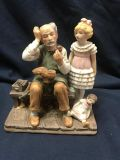 1979 Norman Rockwell Museum The Cobbler Figurine