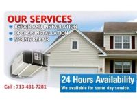 Garage door installation & Opener Repair in Missouri city, TX