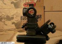 For Sale: Bushmaster AR15 Rifle XM-15 QRC with Mini Red Dot Sight, 45 Degree Iron Sights, Quad Rail, and Fore Grip Bi Pod AR 15 Semi Automatic *NEW UNFIRED*