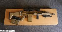 For Sale: FN SCAR 17s in FDE (upgraded) with Leupold Mark 4 10x40