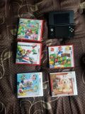 Nintendo 3DS super Mario black edition played 2 times.