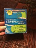 Tampax Compak pearl on the go super #20 count