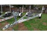 IN STOCK** New 2018 6,000# boat wt Double Axle Aluminum Boat Trailer for 2...