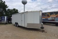 2012 Other 27 Enclosed V Nose Trailer