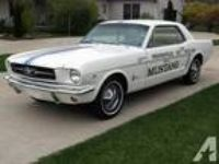 1964 Mustang Indy 500 Pace car