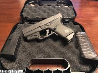 For Sale/Trade: Glock G43 w/CrimsonTrace