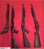 For Sale/Trade: Mossberg shotguns. Home defense, tactical, and turkey 12 gauges.