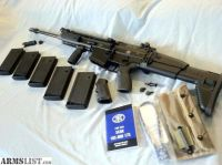 For Sale: FN SCAR 17S BLACK5 MAGS WITH LEUPOLD MARk 4