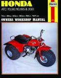Find Honda ATC 70 90 110 185 200 TRIKE ATV REPAIR MANUAL motorcycle in Laguna Hills, California, US, for US $19.95