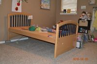$225, Twin Trundle Bed with Matching Dresser