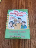 New sealed vintage the Andy Griffith show trading cards