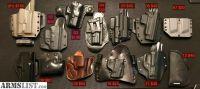 For Sale/Trade: Glock G19 G43, Sig P226 P228 P229, S&W M&P holsters