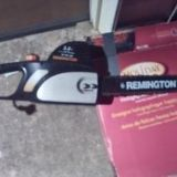 Remmington chainsaw 16 in electric