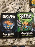 Lot of Dog man books by Dave Pilkey