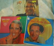 COLLETORS PERRY COMO LPs- 3 vinyl lp set- Perry, Golden Records, And I Love You