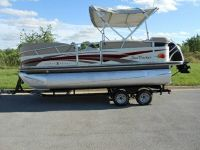 2008 Suntracker Party Barge 20 Pontoon Boat - laredo