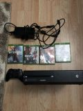 Xbox one 500gb with 4 games and accessories