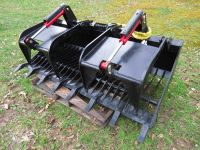 SKID STEER GRAPPLE, BUCKETS, & MORE - FREE SHIPPING*