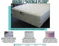 QUEEN MATTRESS  BOX ALL NEW DOUBLE SIDED PLUSH $239.99