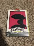Griffin Survivor All Terrain Case with Stand. For iPad Mini with Retina Display & iPad Mini. Pink/Black. Brand New in Packaging.