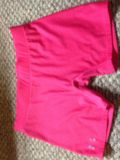 Women's large under armour compression shorts