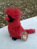 """MINT CONDITION RETIRED TY BEANIE BABY BABIES """" ROCKET """" WITH 4 ERRORS!"""