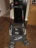 Snap and go stroller caddy