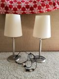 Table lamps selling together