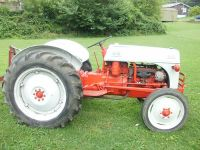 TRACTOR, 1958 FORD 8N, 40HP GAS, LIVE ...