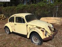 Field find: Parting out a 1970 Bug